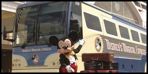 10/29/10 – Review of Disneys Magical Express and transportation at WDW, and your questions