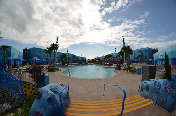 Nemo Pool Area Art of Animation Resort Disney