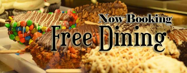 Disney world announces free dining How to get free dining at disney