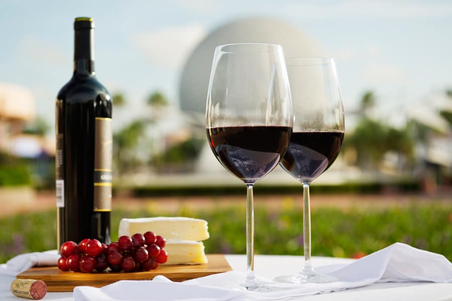 Disney EPCOT food and wine dates
