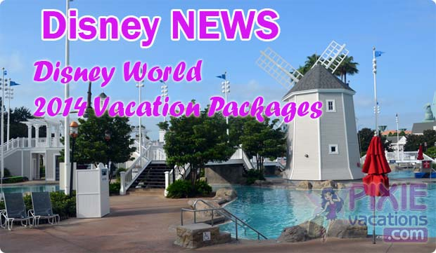 Disney World 2014 Vacation Packages