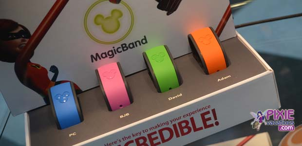 Disney World Magic Bands Colors and Sizes