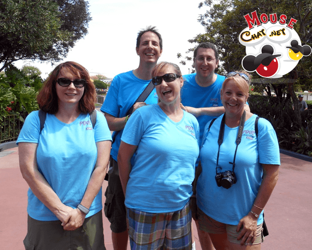 Disney World Mouse Chat Team