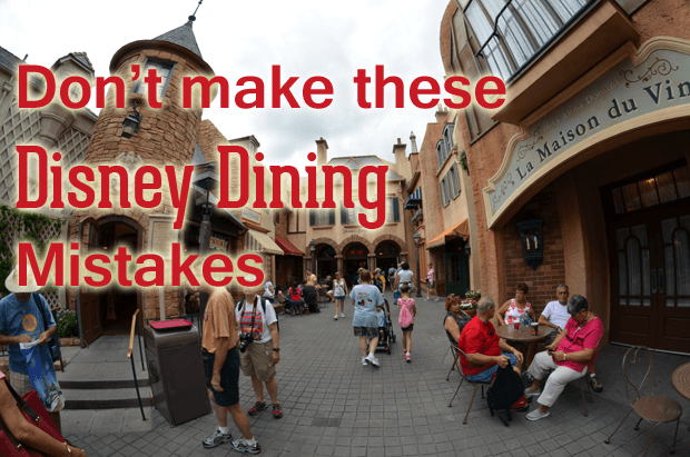 Walt Dsiney World Dining Reviews