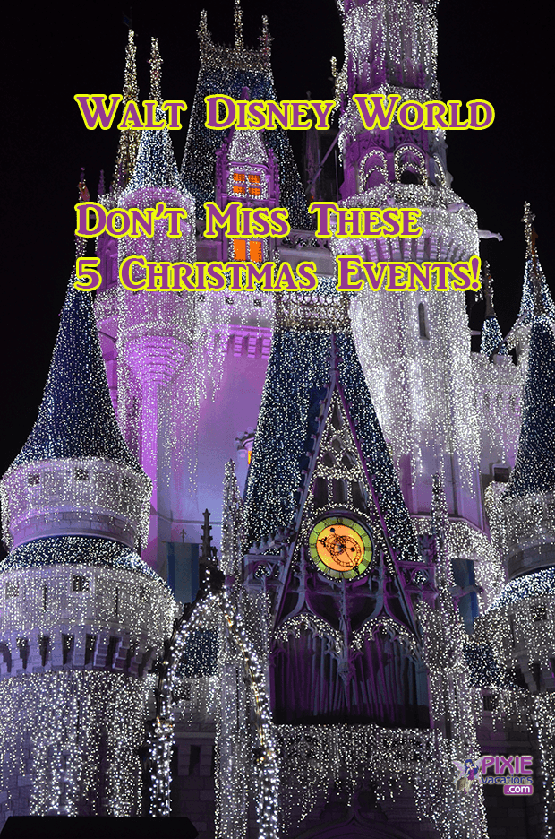 Disney World Christmas Special Events