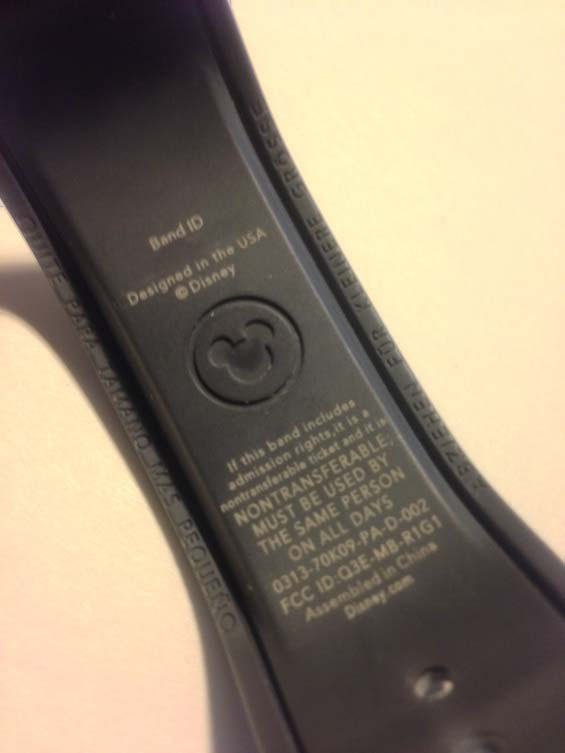 disney magic band review security - is band secure