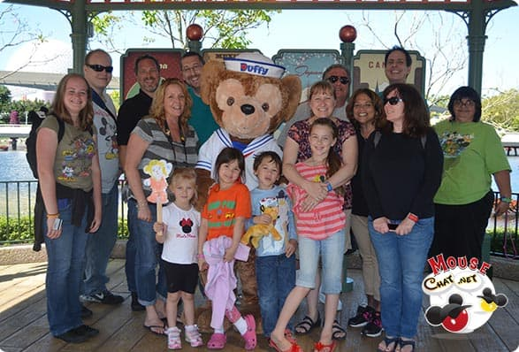 Mouse Chat and Duffy at Disney World