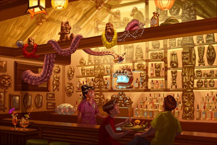 Trader-Sam's-Grog-Grotto-Bar-Concept-Art