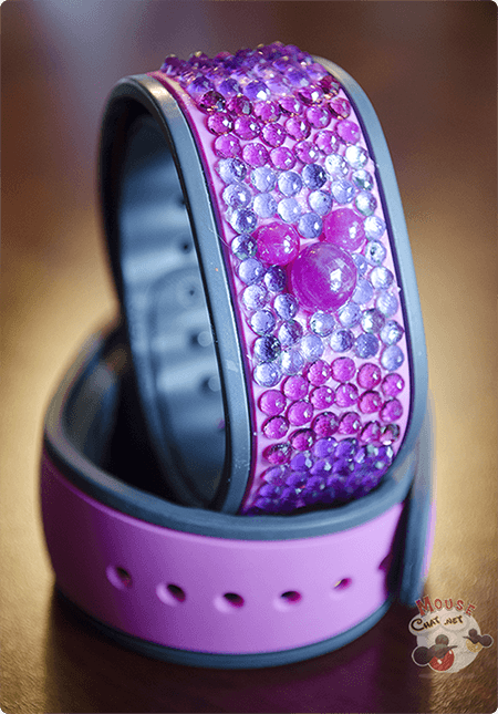A 23 carat gem covered Disney MagicBand is the most expensive MagicBand in the world.
