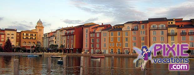 The Harbor Views At Universal Studios Loews Portofino Bay Hotel