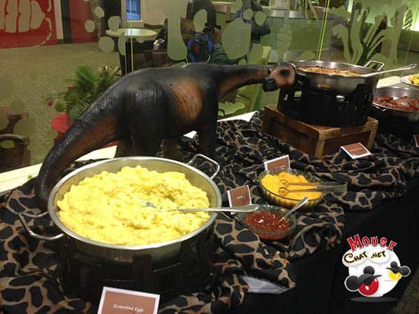 Disney Special Events Space Dinosaur Lounge Breakfast