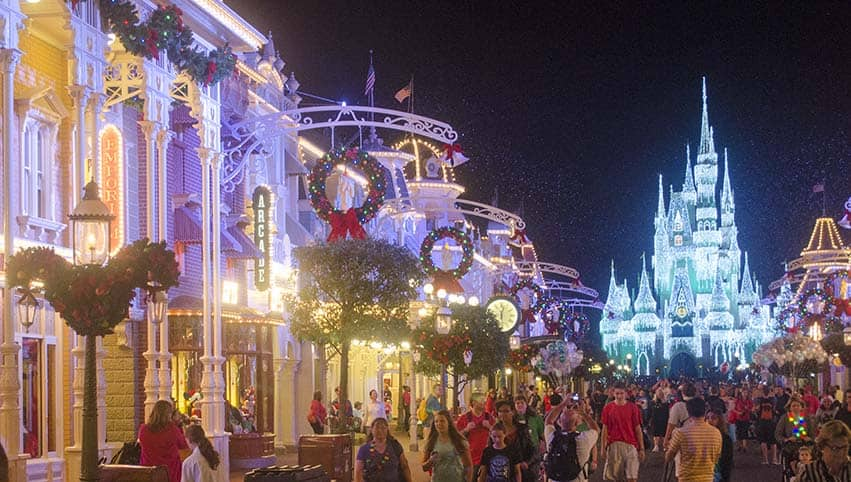 Walt Disney World Christmas Pixie Vacations