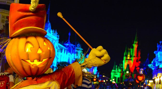 2015 Disney Halloween Party Dates
