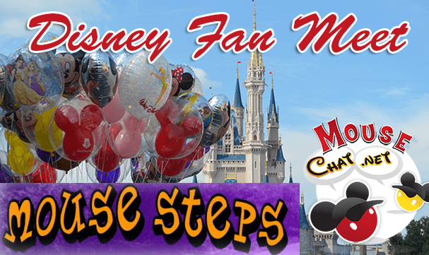 Mouse Chat Steps Disney Fan Meet Up