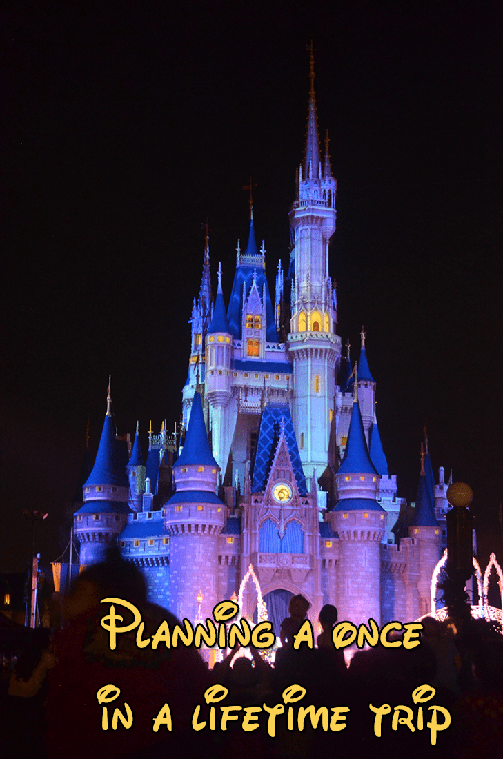 Planning that once in a lifetime trip to Disney World?