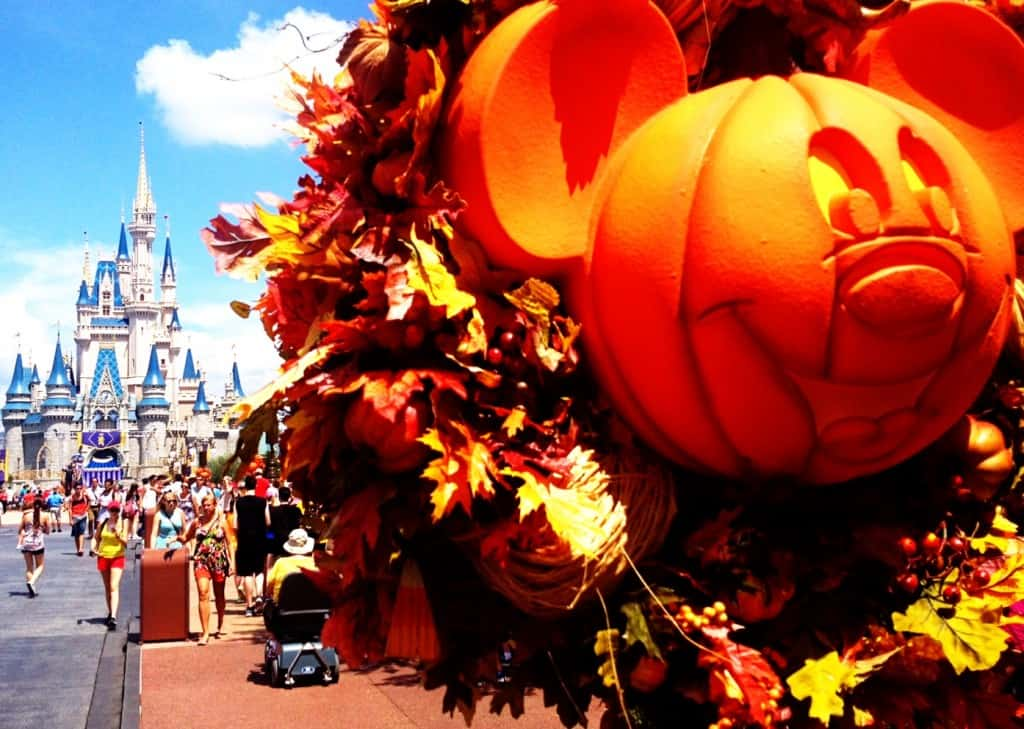 Disney World Fall Halloween Party
