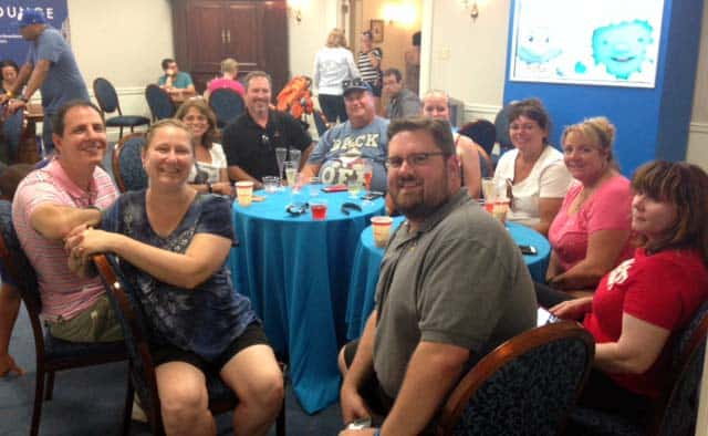 Mouse Chat 2015 meet up at Disney World