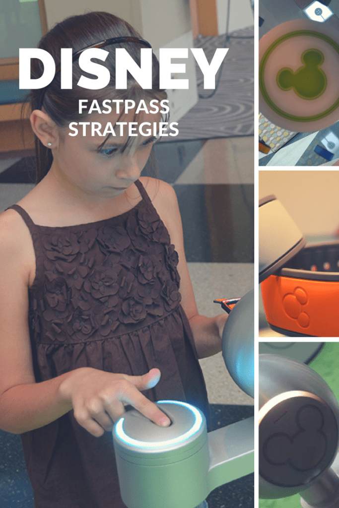 Strategies for Disney Fastpasses