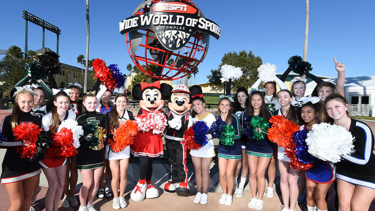 Disney World Cheer