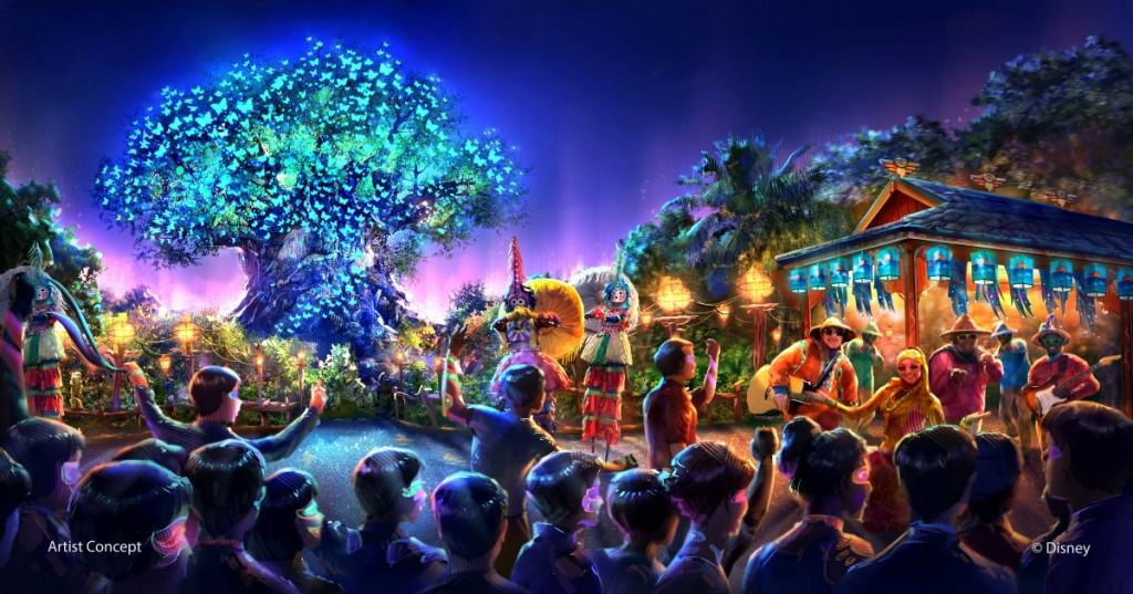 Animal Kingdom Rivers of Light Opening