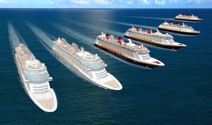 Disney Cruise Line new cruise ships announced. #disneycruise