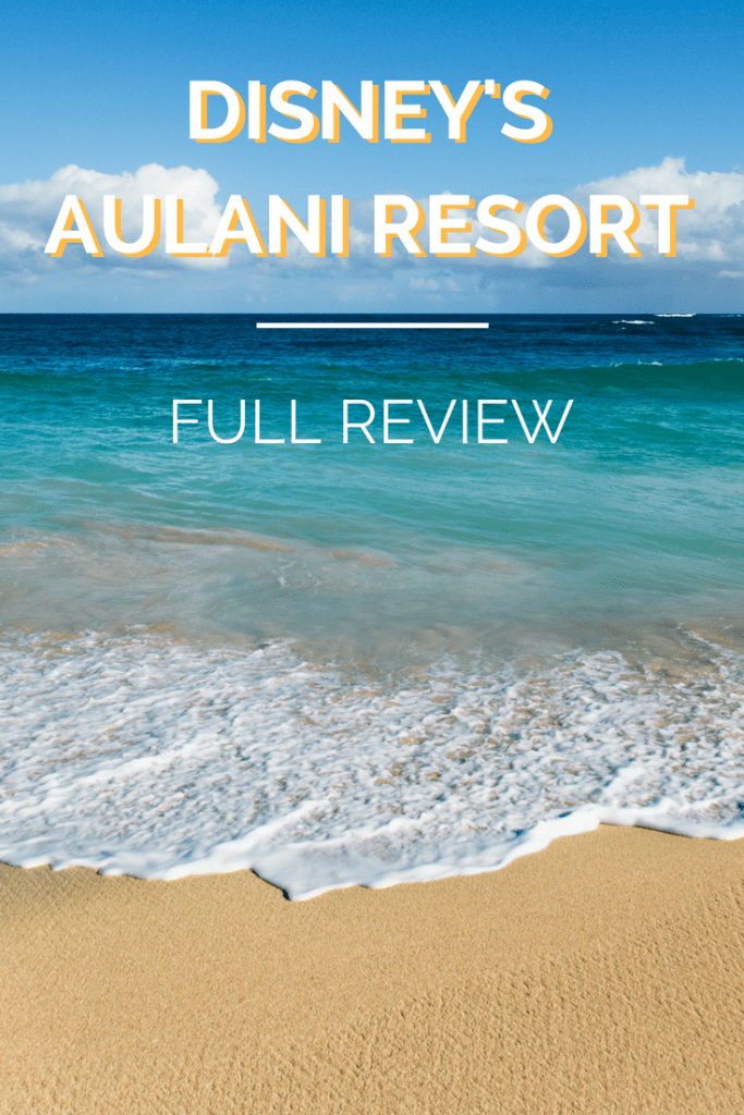 Disney's Aulani Resort Full Review.