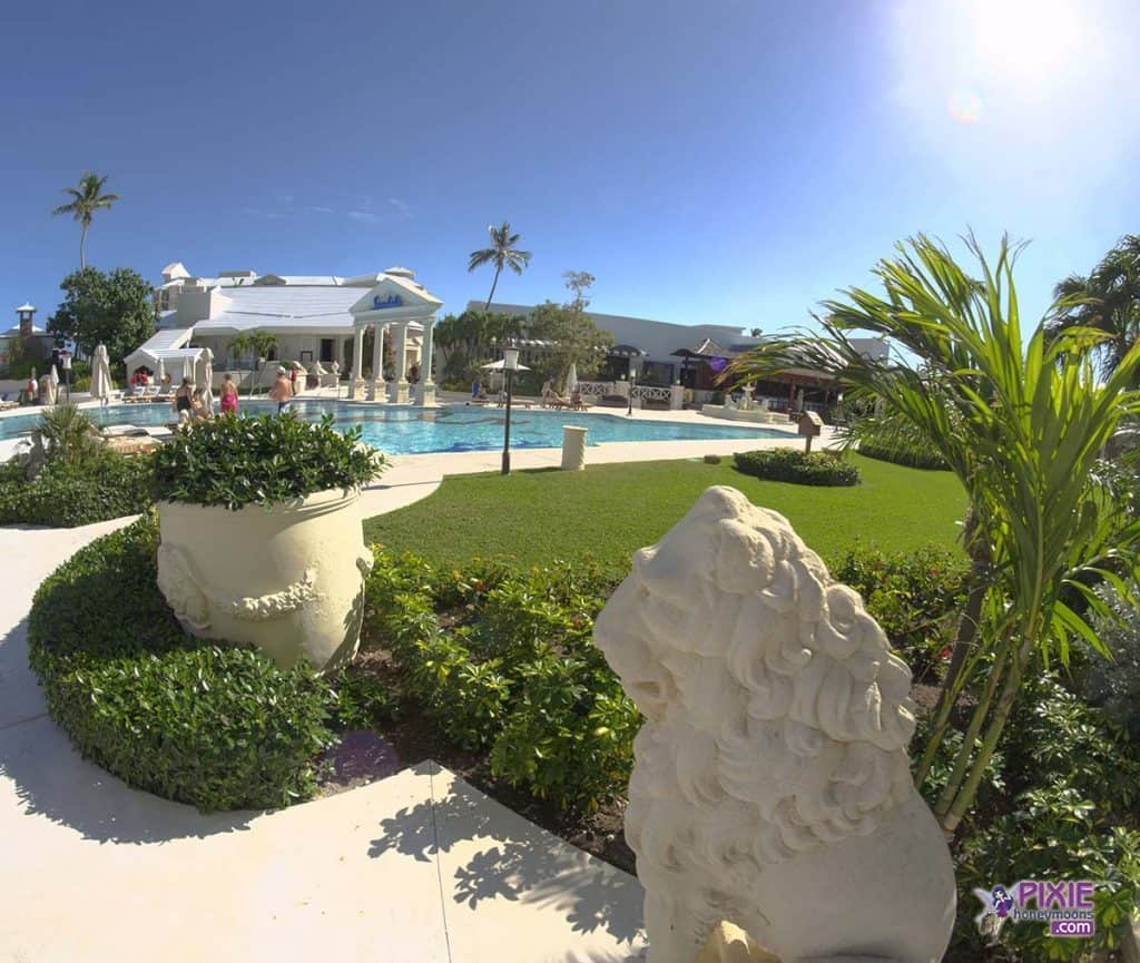 Sandals Resorts Windor pool view