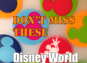 What extras should I book at Walt Disney World?