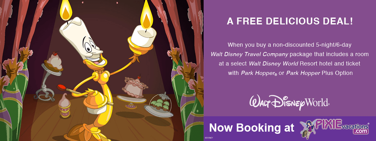 Disney Free Dining is here.  :) We are happy to help you book this today.  #DisneyFreeDining