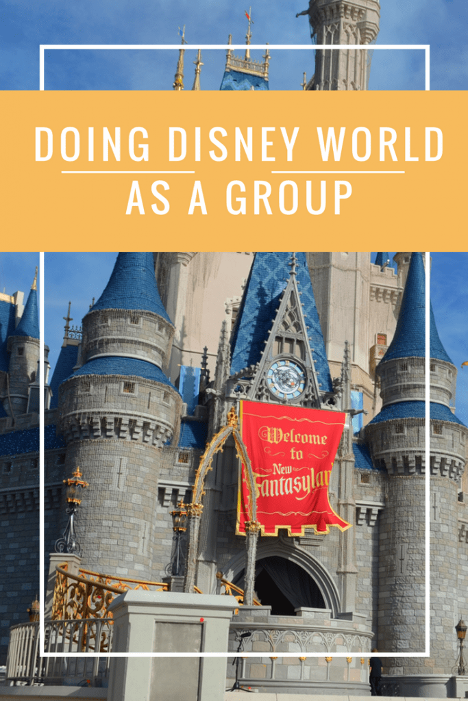 Going to Disney World as a group