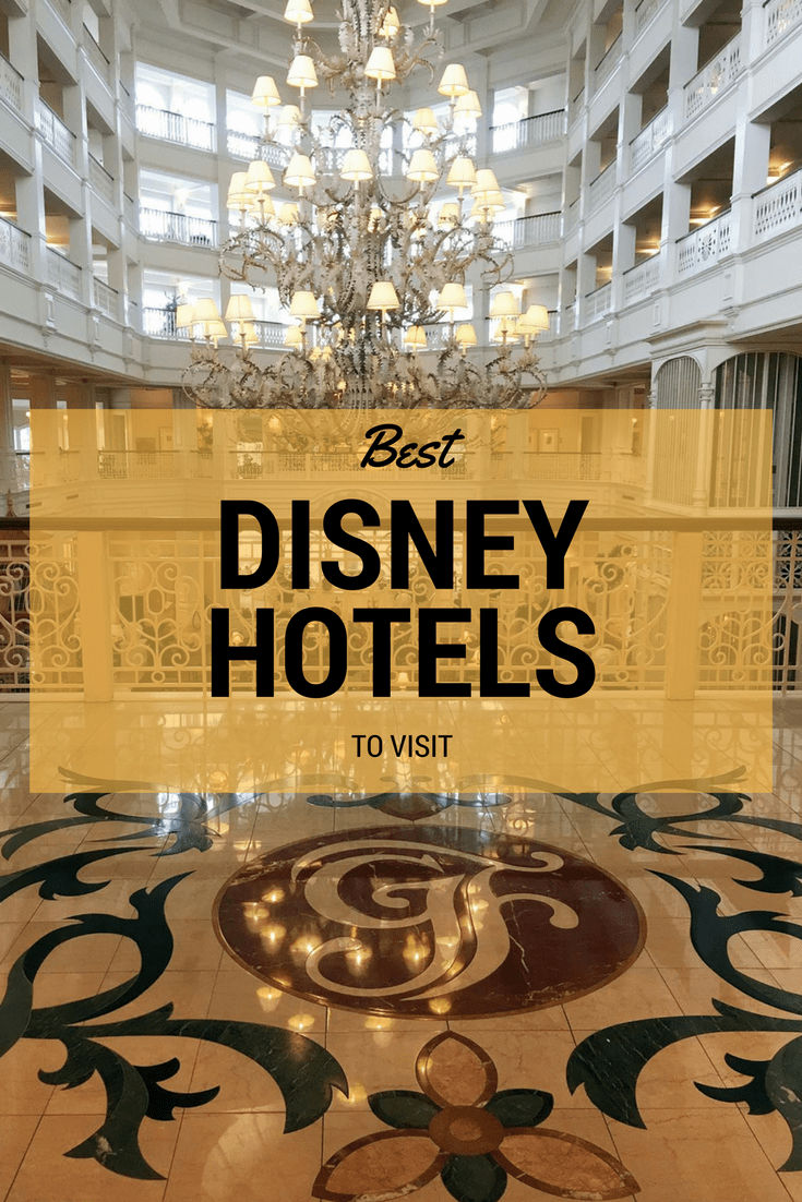 The Best Disney World Resorts to visit without staying there.  #DisneyWorld #DisneyTrip