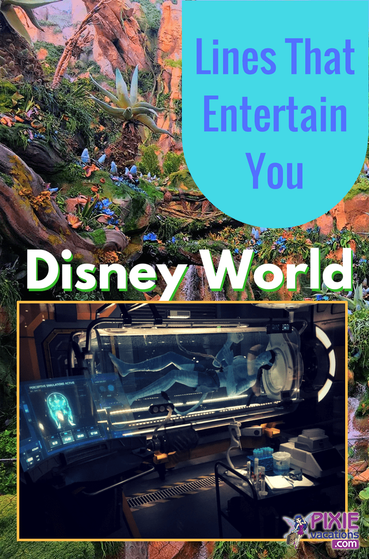 These are the Disney World Attractions that will keep you entertained while you wait. #disneyworld