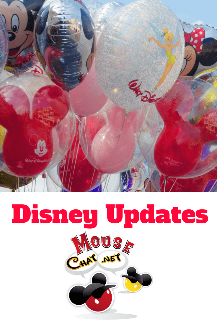 Summer Disney World Updates