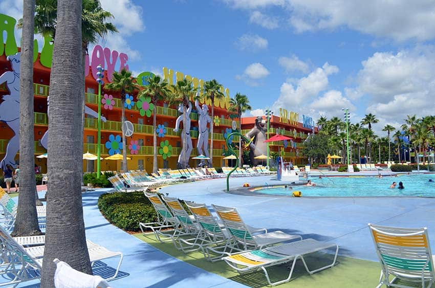 Pop Century Hotel at Disney World review.