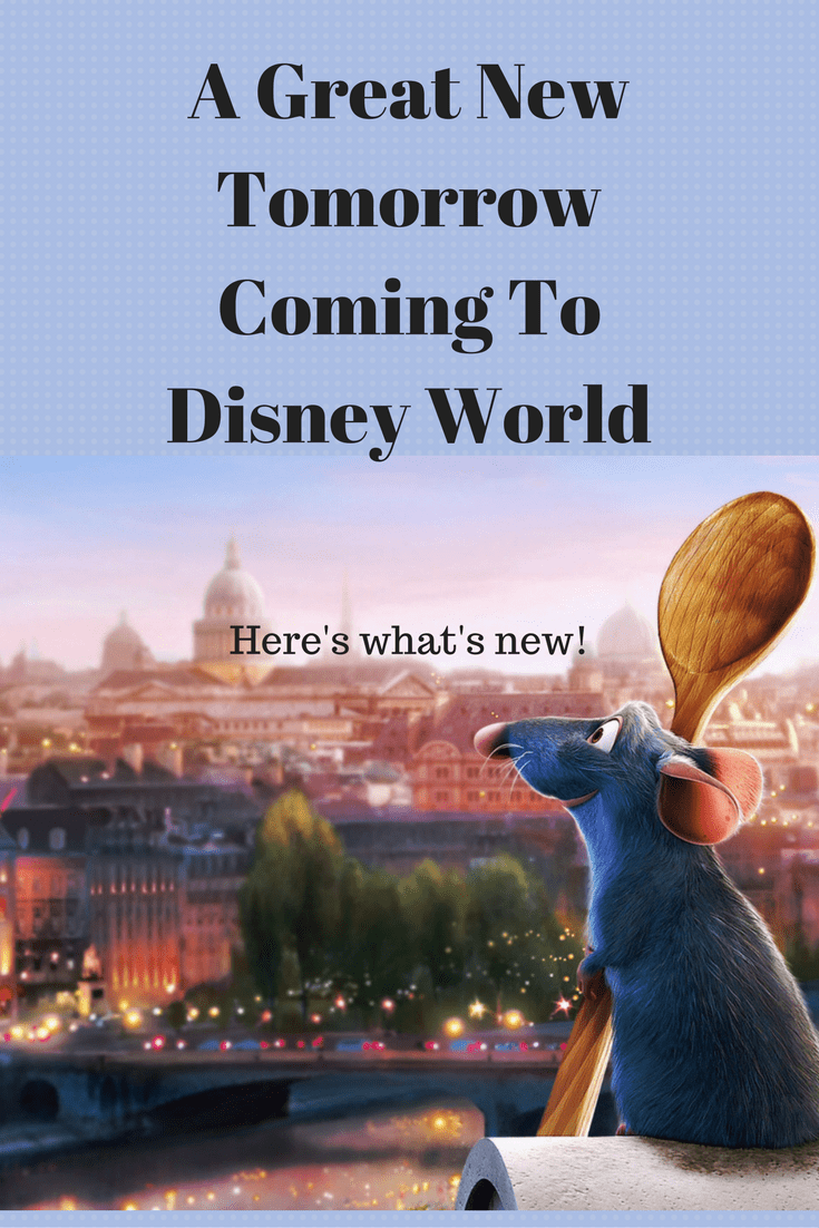 A great new tomorrow coming to Disney World. Here is what's coming to Disney World.
