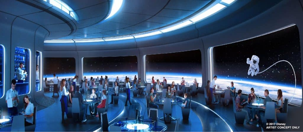 new space restaurant coming to EPCOT