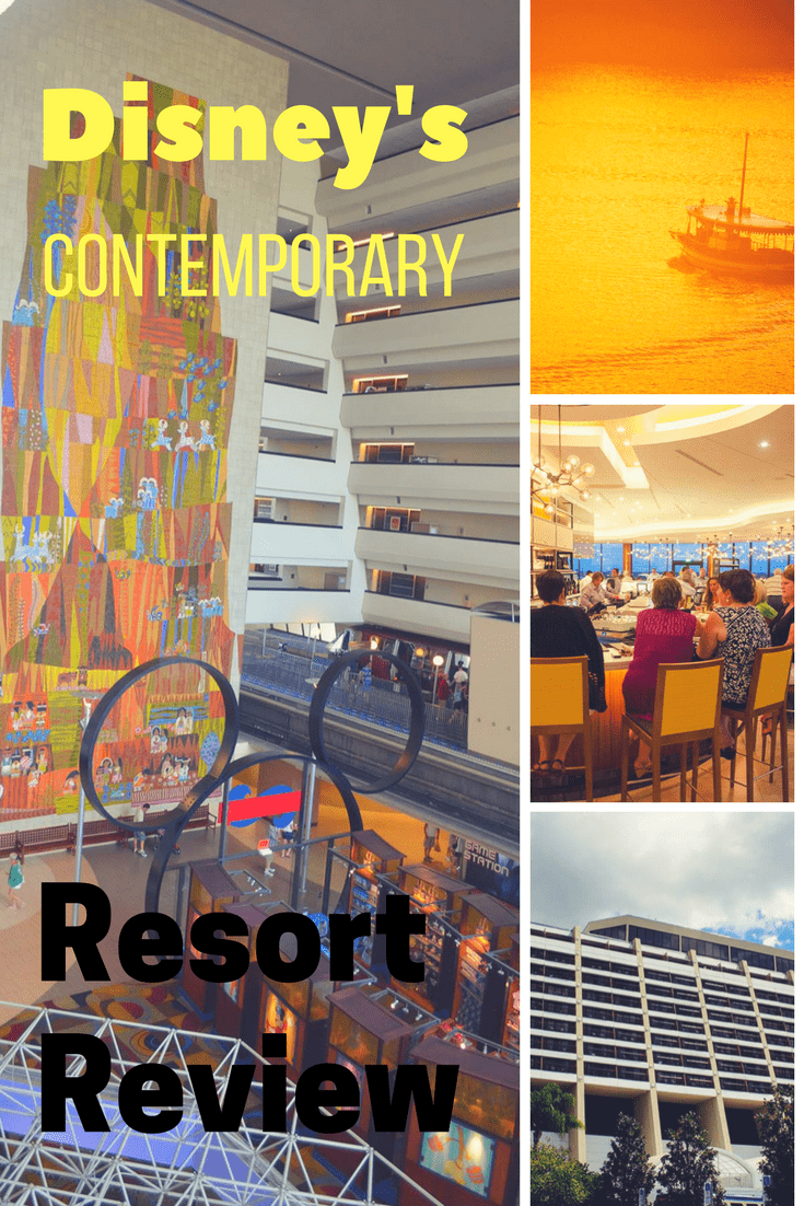 Disney's Contemporary Resort & Bay Lake Tower Review -  My full review of these two Walt Disney World Resorts. #ContemporaryResort #BayLakeTower #DisneyWorld