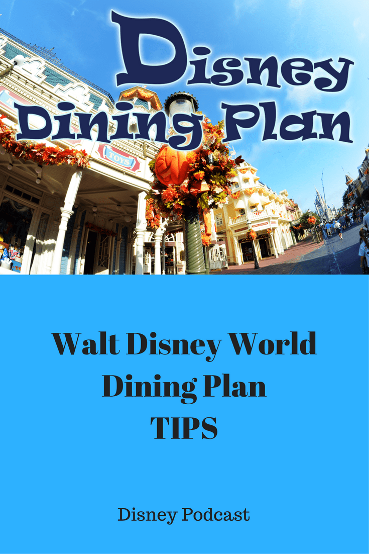 Disney Dining Plan - What would you like changed? 