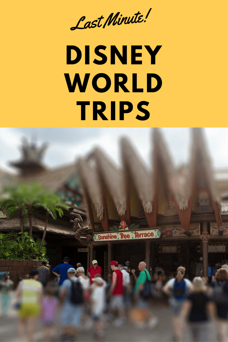 Are you planning a quick vacation to Walt Disney World?  Here are our Last Minute Walt Disney World Vacation Tips #DisneyWorld #DisneyVacation