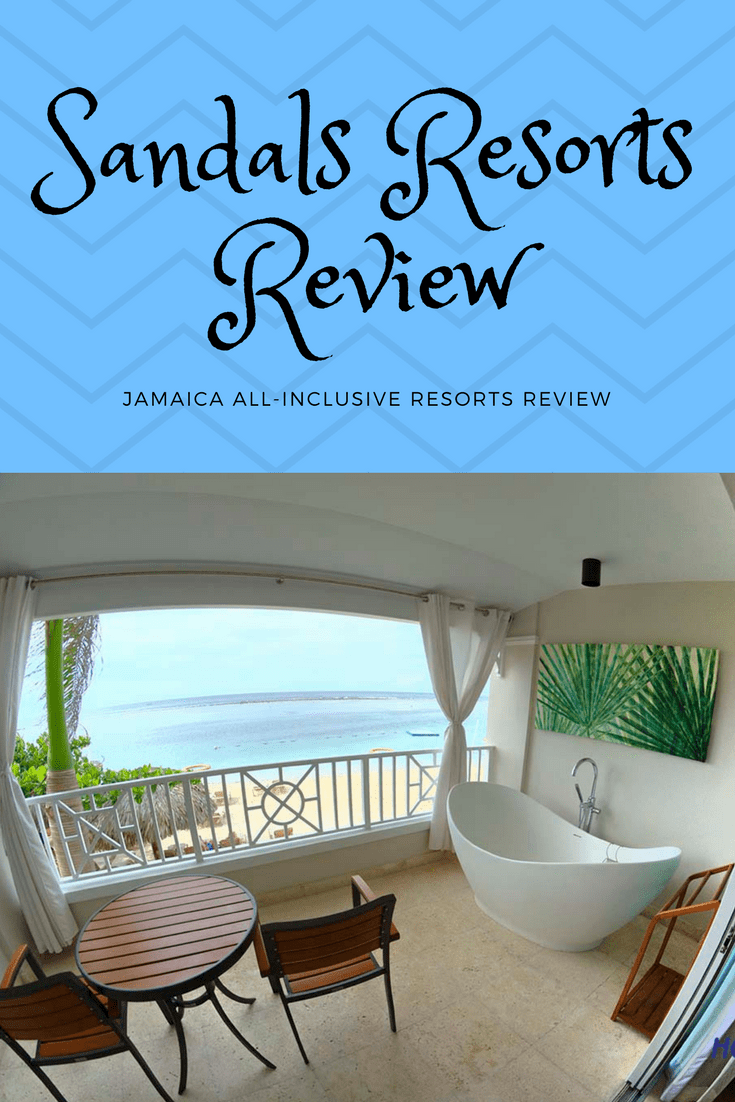 We stayed at the best Sandals Resorts and Beaches Resorts. 7 day review.  