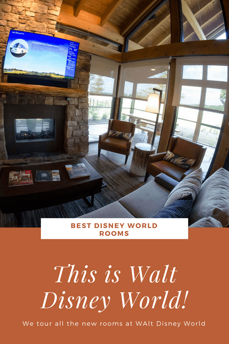 Updated Rooms at Walt Disney World  