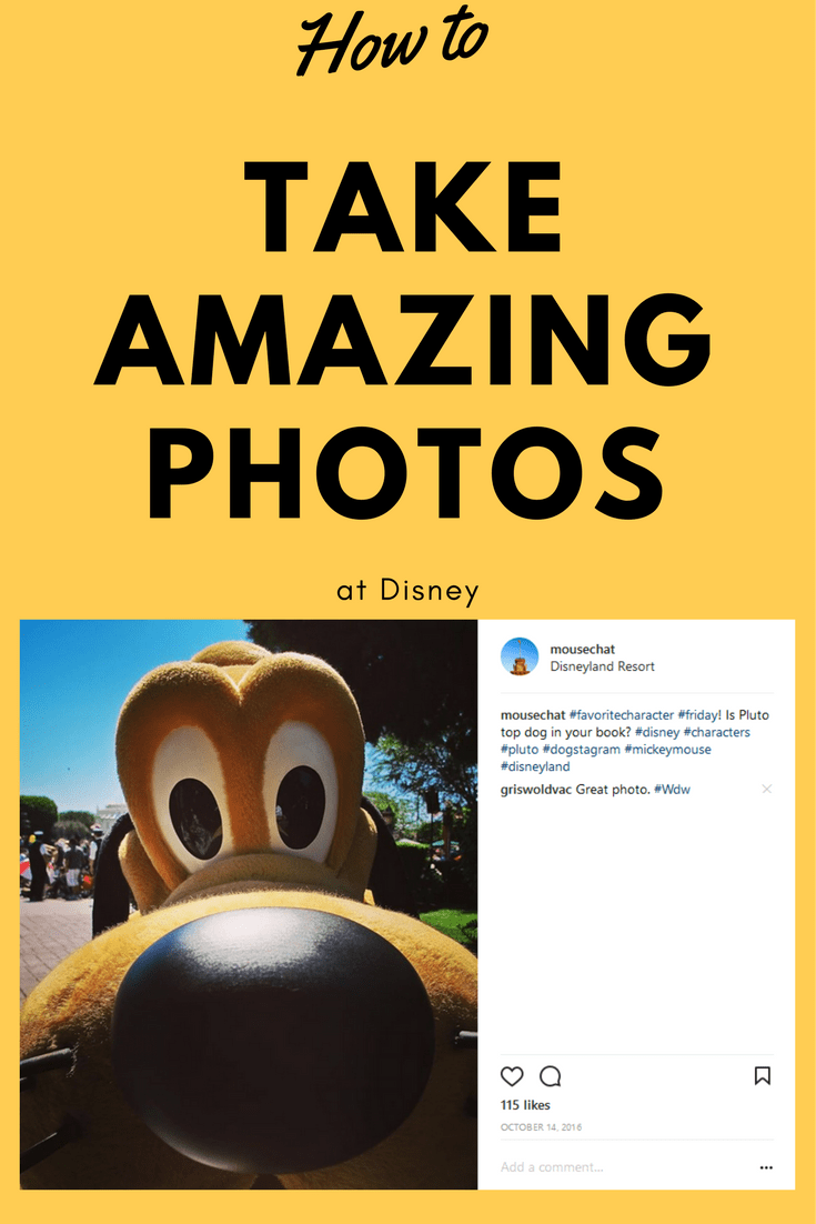 How to take awesome vacation photos at Disney.   Tips, basics, and advice for taking fantastic vacation photos.