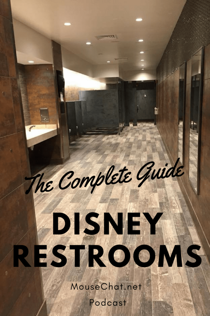 Disney World Bathrooms and restrooms
