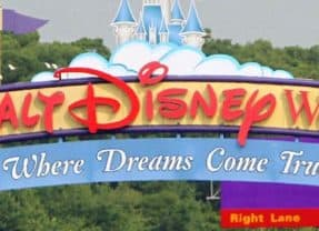 The history behind the Walt Disney World signs