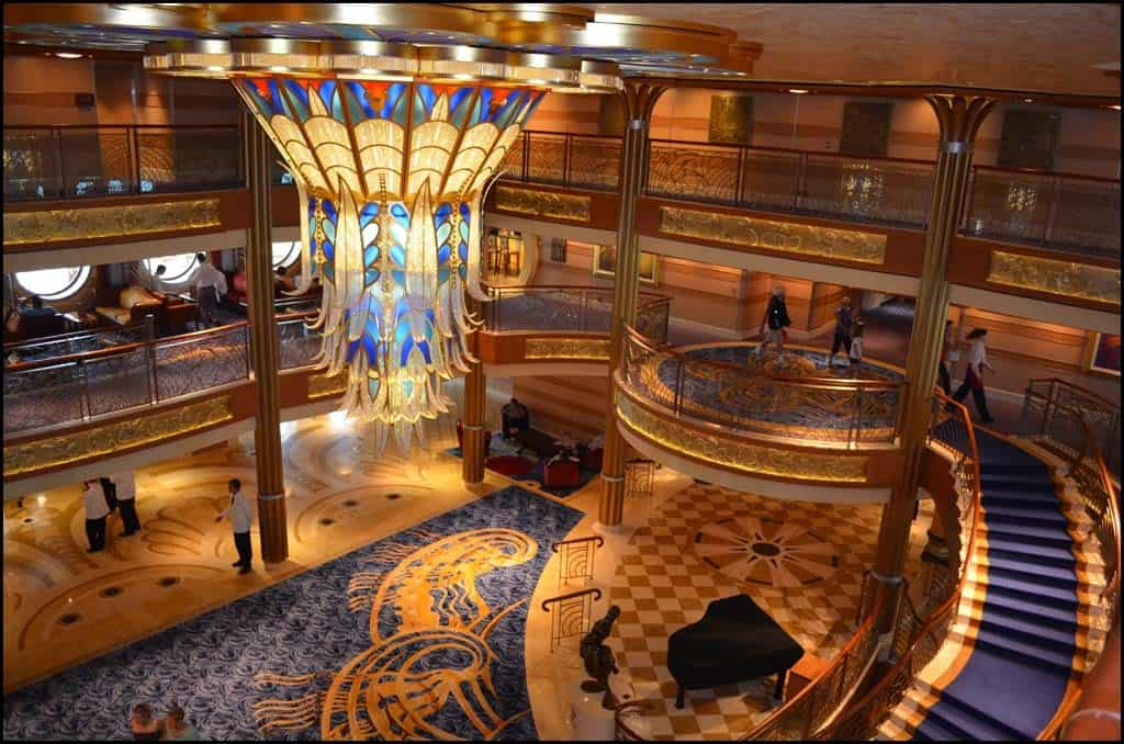 Disney Dream Cruise Lobby