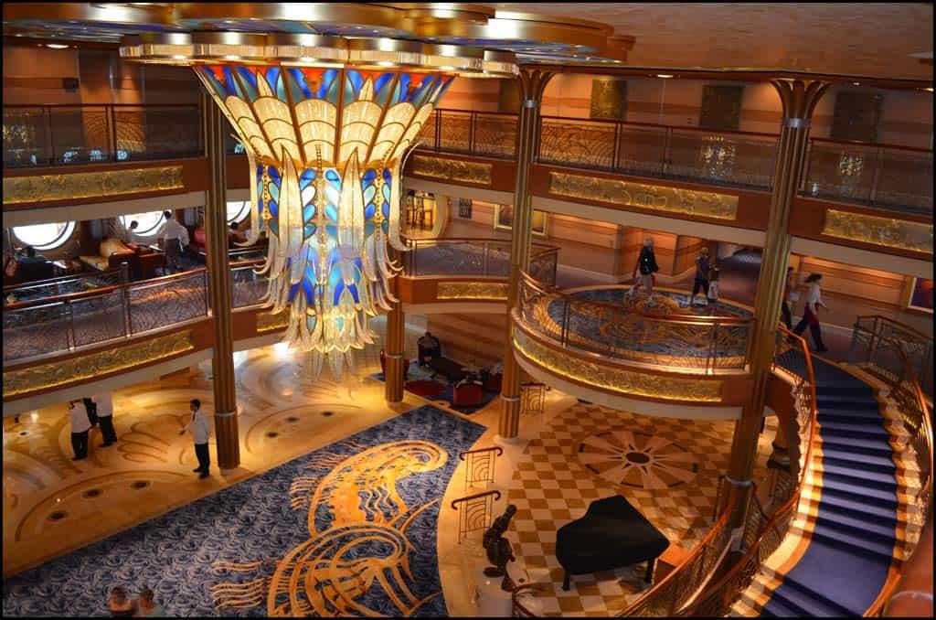 Disney Dream Cruise Lobby