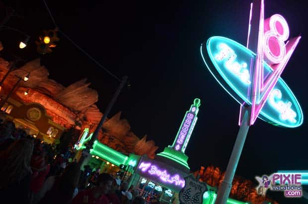 Cars Land Press Party