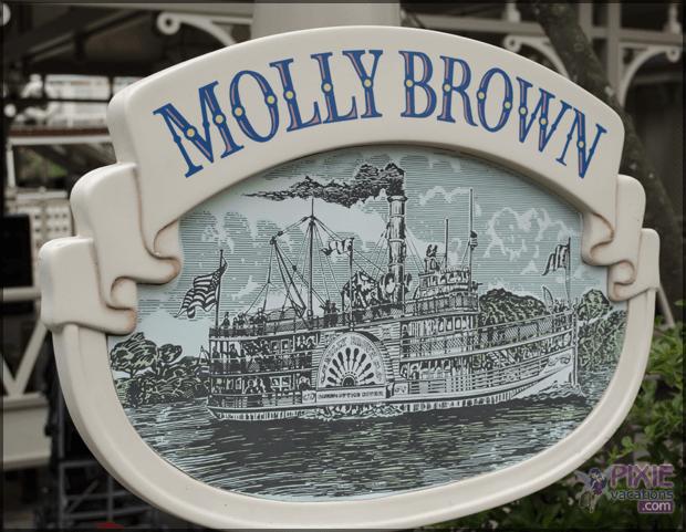 disney molly brown boat