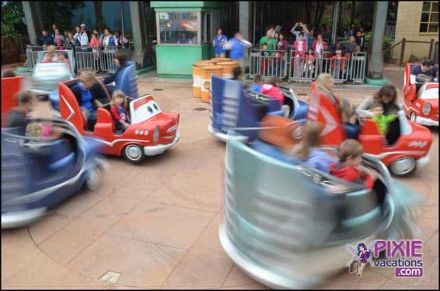 Cars Land at Disneyland Paris