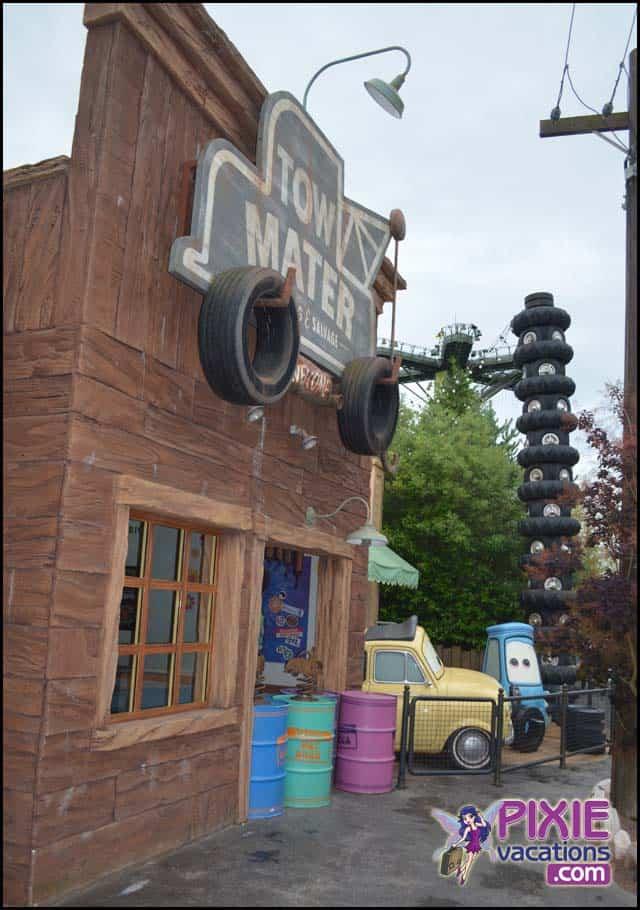 Disneyland Route 66 Cars